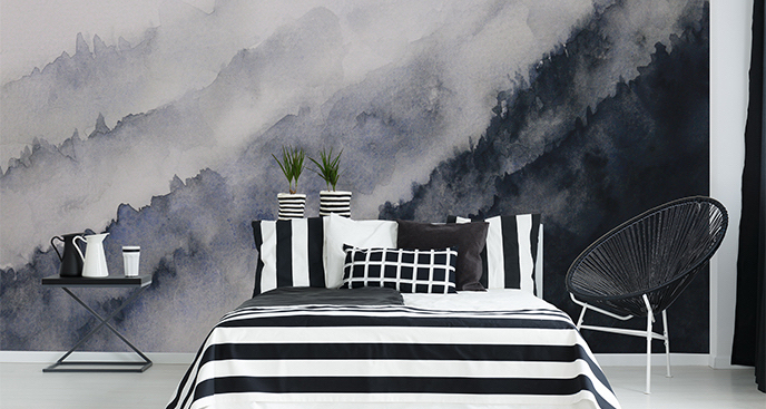 Fototapeta abstrakcjonizm do sypialni