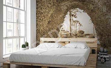 Fototapeta alejka drzew do sypialni