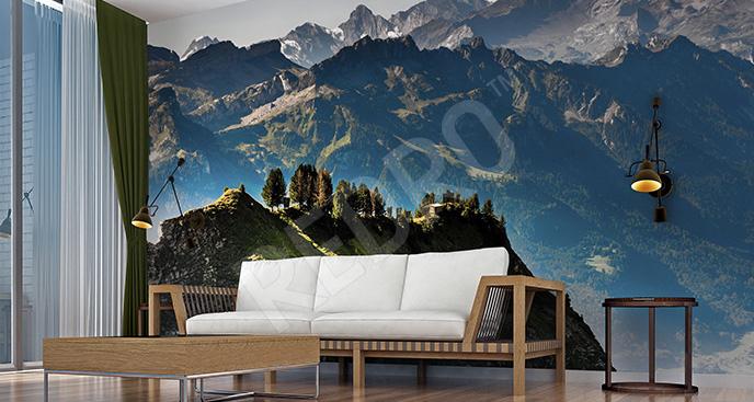 Fototapeta alpejski pejzaż