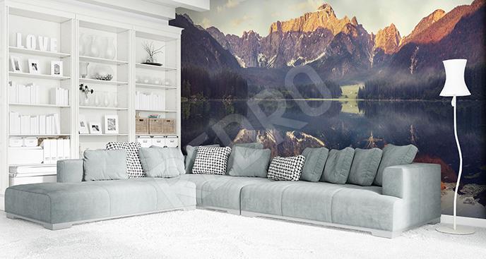 Fototapeta Alpy: jezioro