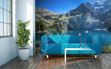 Fototapeta Alpy w Szwajcarii