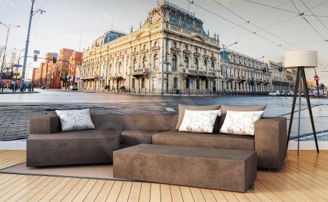 Fototapeta architektura Łodzi