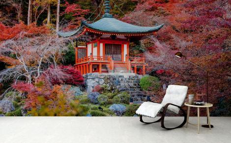 Fototapeta azjatycki krajobraz