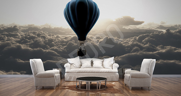 Fototapeta balon w chmurach
