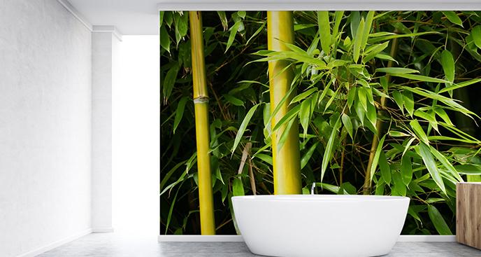 Fototapeta bambus do łazienki