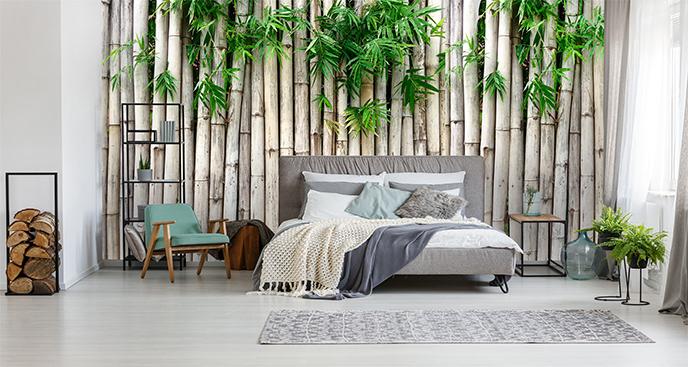 Fototapeta bambus do sypialni