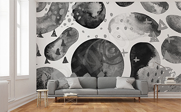 Fototapeta biało-czarna tekstura