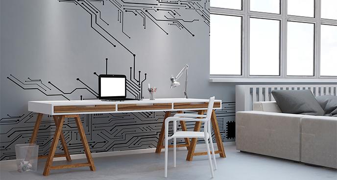Fototapeta biurowa minimalizm