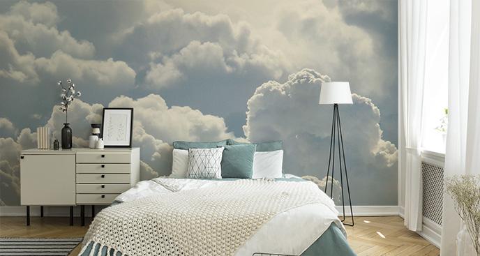 Fototapeta błękitne chmury