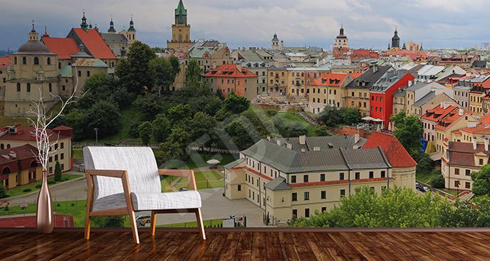 Fototapeta budynki w Lublinie