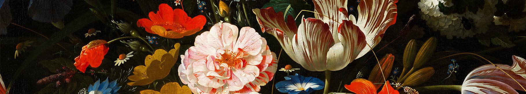 Fototapeta bukiet z kolorowymi kwiatami