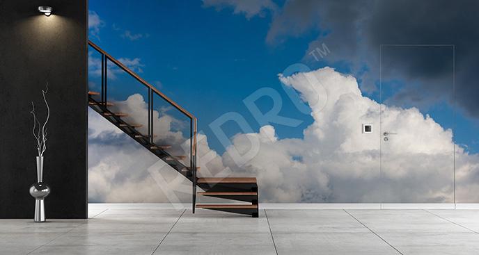 Fototapeta chmury na niebie