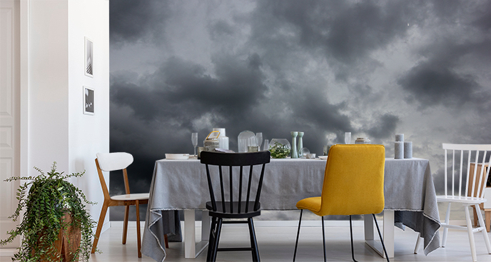 Fototapeta ciemne chmury