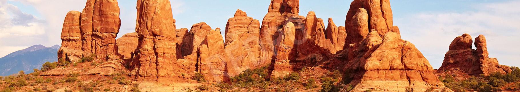 Fototapeta czerwona pustynia