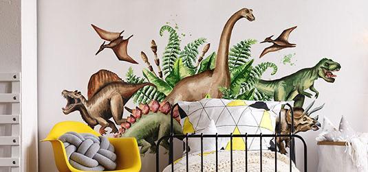 Radzimy, jak ładnie urządzić dziecięcy pokój w dinozaury - sprawdź!