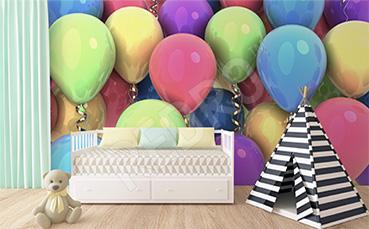 Fototapeta dla dzieci 3d balony