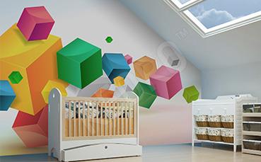 Fototapeta dla dzieci abstrakcja