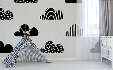 Fototapeta dla dziecka w chmury