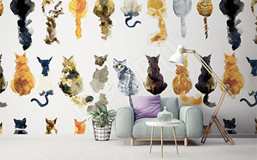 Fototapeta dla miłośników kotów