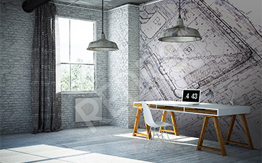 Fototapeta do biura architektonicznego