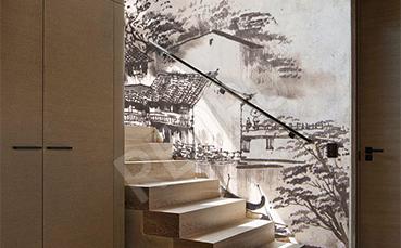 Fototapeta do hotelu akwarela