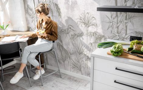 Fototapeta do kuchni – las tropikalny