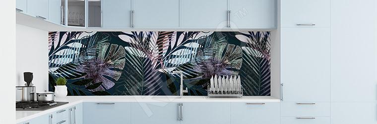 Fototapeta do kuchni miejska dżungla