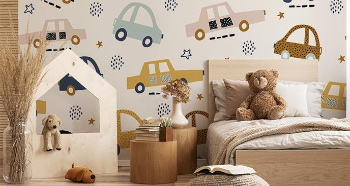 Fototapeta do pokoju dziecka – auta