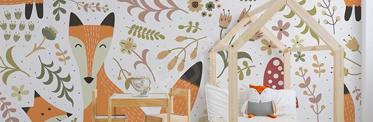 Fototapeta do pokoju dziecka kolorowa mapa
