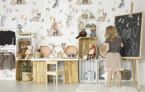 Fototapeta do pokoju dziecka zwierzęta