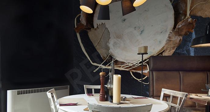 Fototapeta do restauracji motyw sera