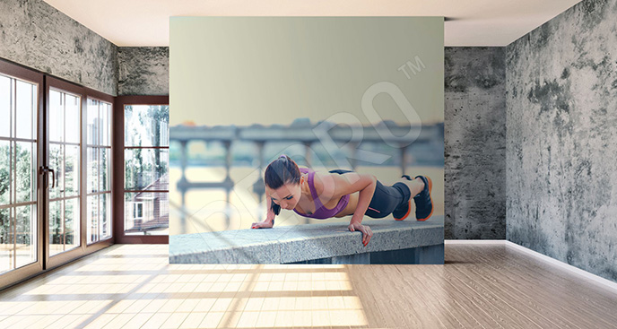 Fototapeta do sali fitness