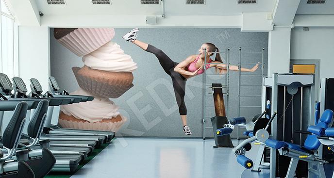 Fototapeta do sali gimnastycznej