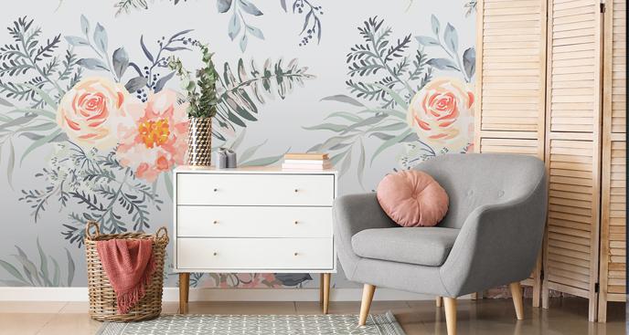 Fototapeta do salonu – kwiaty