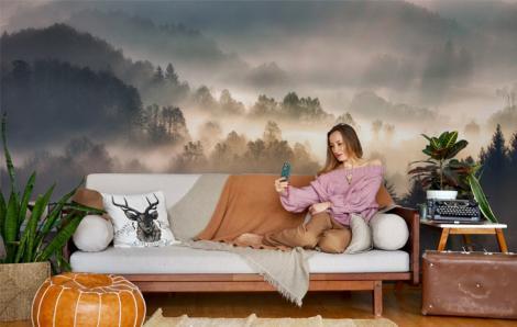 Fototapeta do salonu – mgła