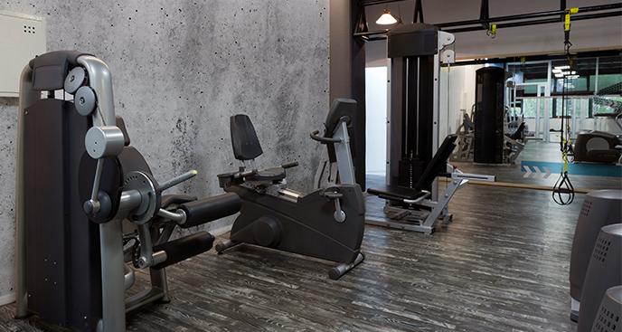 Fototapeta do siłowni – beton