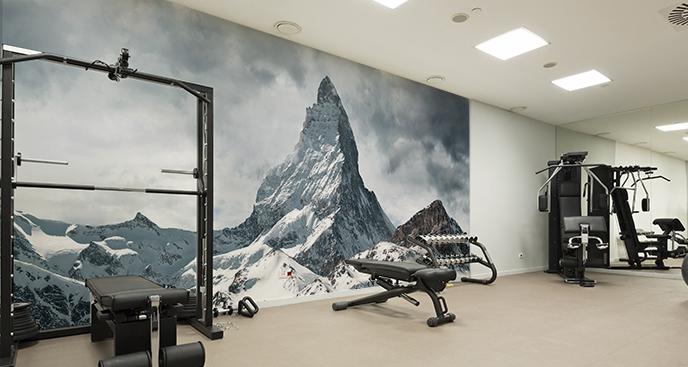Fototapeta do siłowni – góry