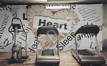 Fototapeta do siłowni serce
