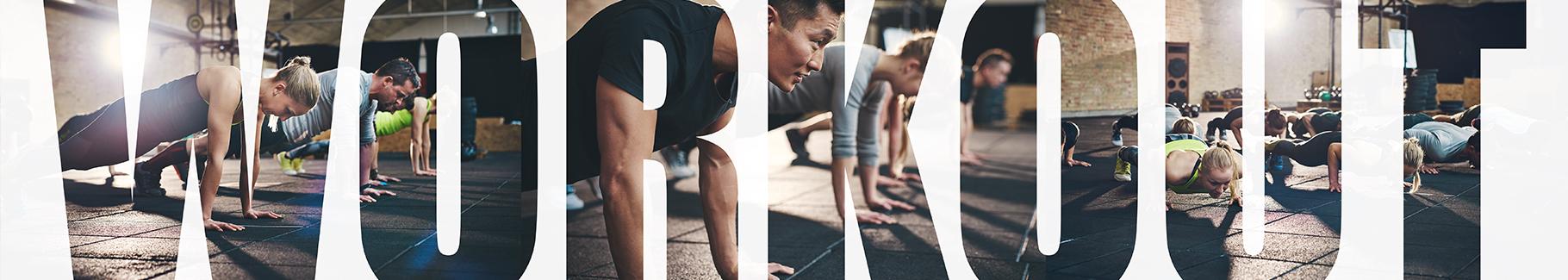 Fototapeta do siłowni – Workout