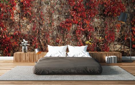 Fototapeta do sypialni rośliny
