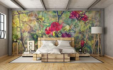Fototapeta do sypialni róże