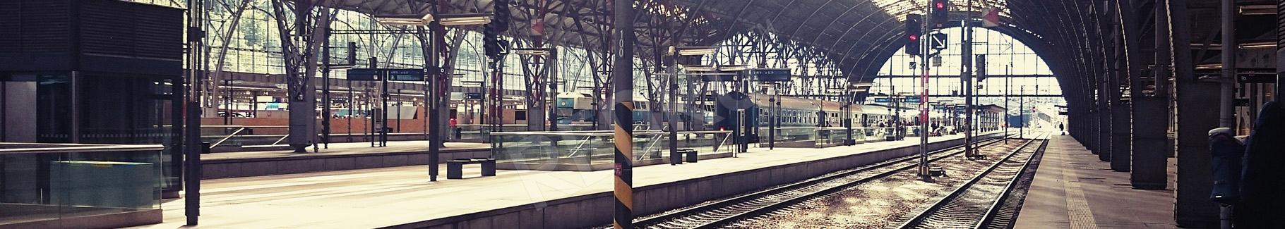 Fototapeta dworzec kolejowy 3d