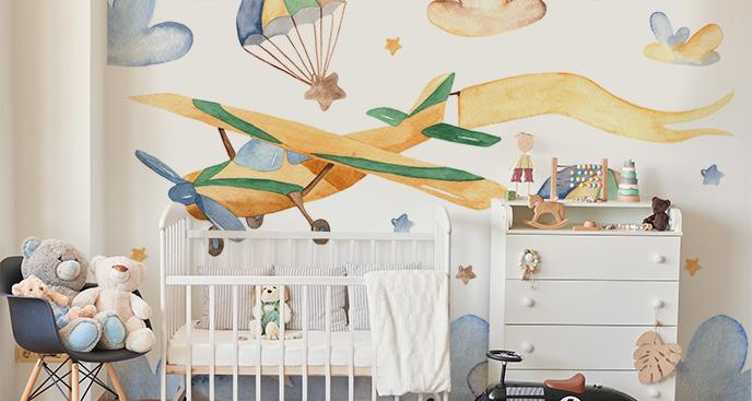 Fototapeta dziecięca - samolot