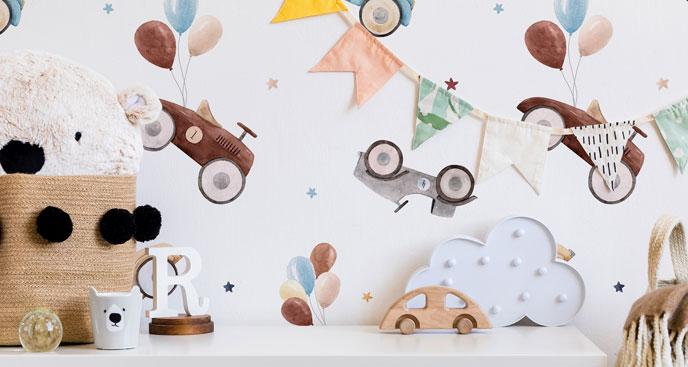 Fototapeta dziecięce pojazdy