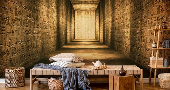 Fototapeta egipskie hieroglify