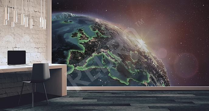 Fototapeta Europa 3D