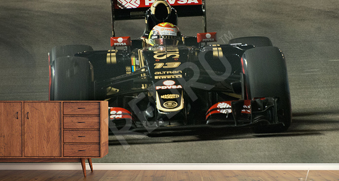 Fototapeta F1 bolid Lotus