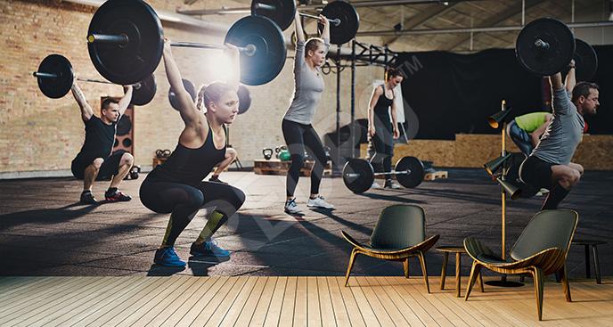 Fototapeta fitness 3D