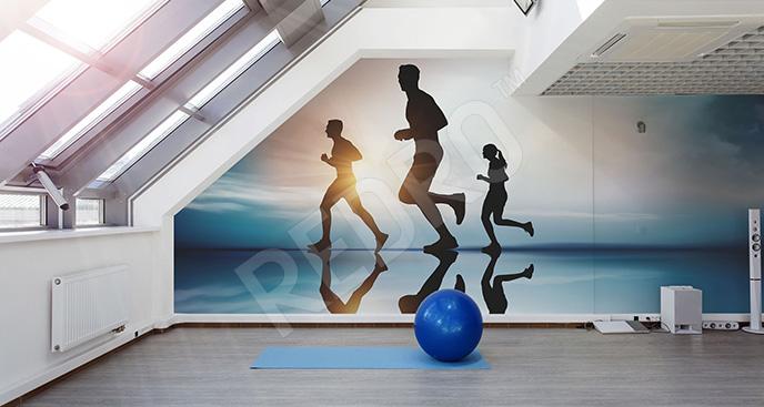 Fototapeta fitness: bieganie