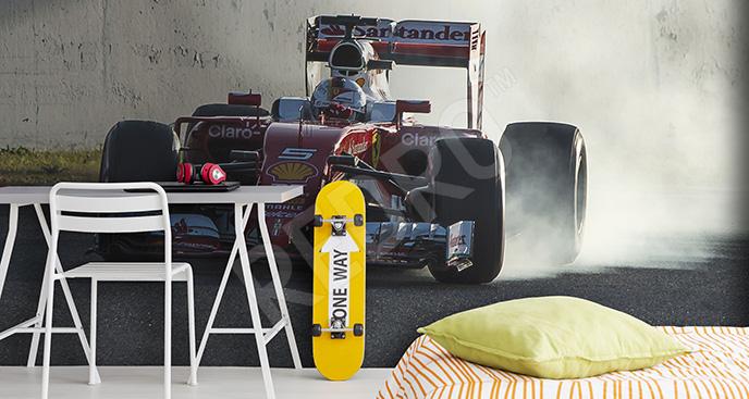 Fototapeta Formuła 1 do pokoju nastolatka